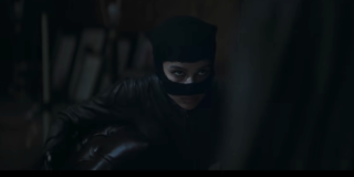 Catwoman in The Batman's footage