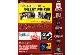 HOT DEALS: Albums for under £5 on iTunes + films for under