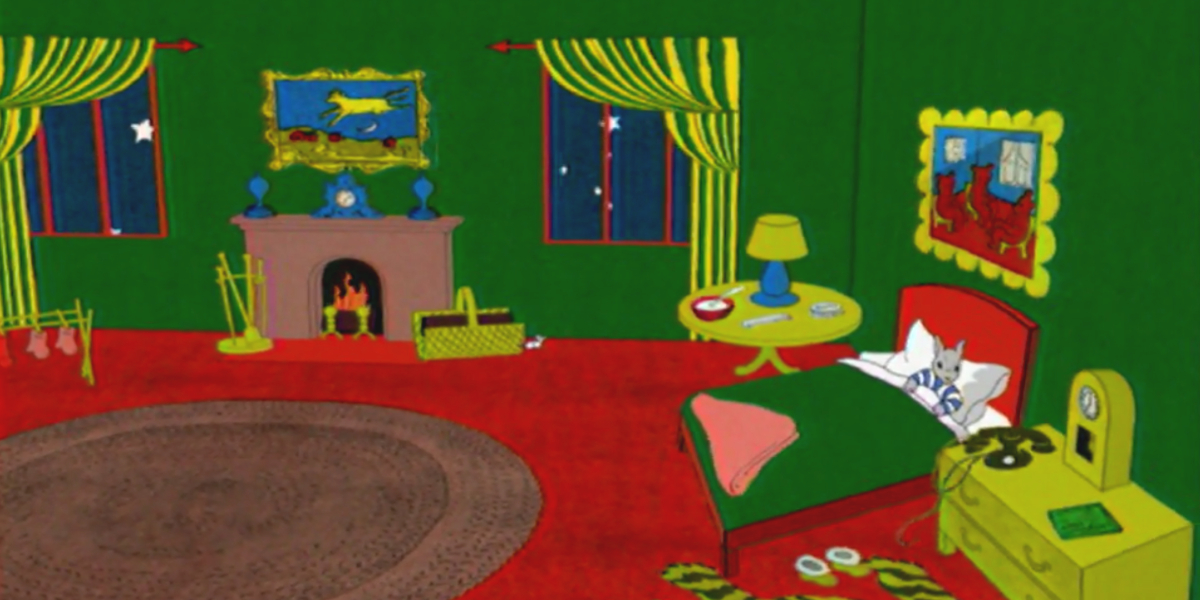 A scene from Goodnight Moon And Other Sleepytime Tales