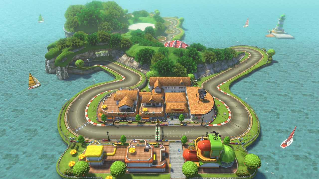 Mario Kart 8 DLC Will Bring Back Yoshi Circuit #32102
