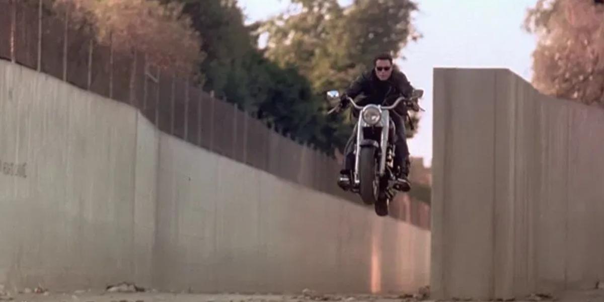Arnold Schwarzenegger as The Terminator in Terminator 2: Judgment Day