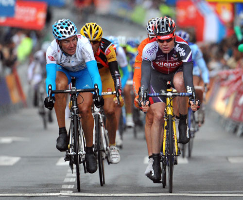Cadel Evans, Vuelta a Espana 2009, stage 18