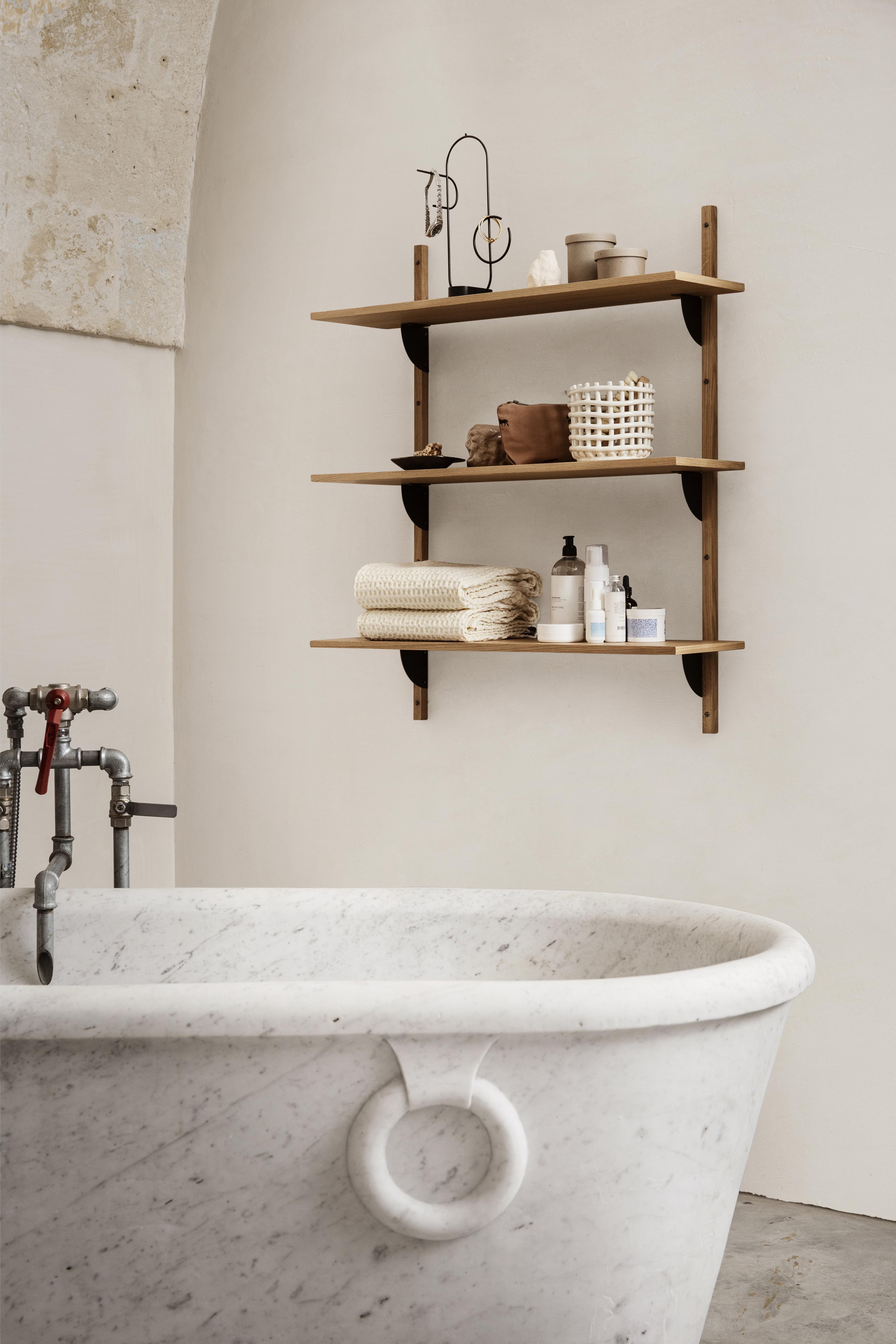 Bathroom Shelving Ideas 22 Stylish, Shelf In Bathroom Ideas