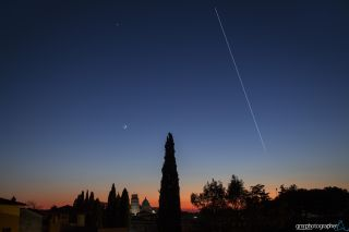 ISS, Mars, Mercury, Venus and Moon Petricca