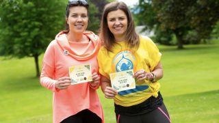 Scottish Walking Awards winner Magdalena Augustyn-Lygas - on left.