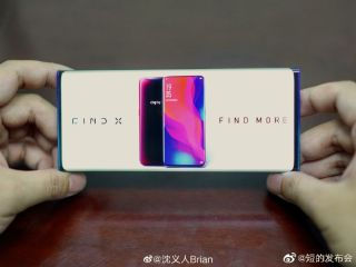 Oppo Find X2: button-free 'waterfall screen' with under-display camera?