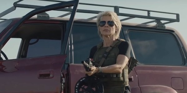 Sarah Connor in Terminator: Dark Fate