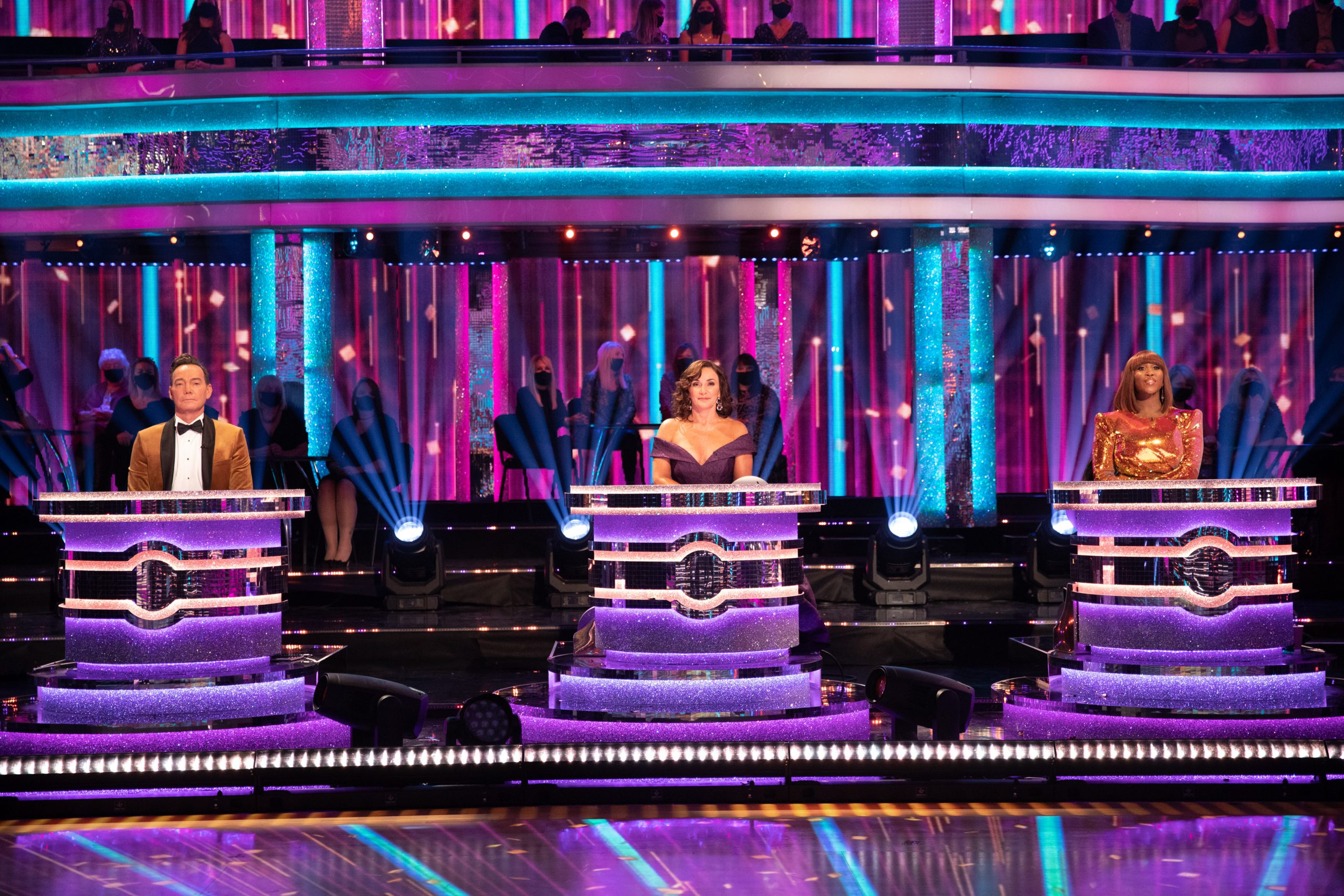 Strictly Come Dancing judges on the panel