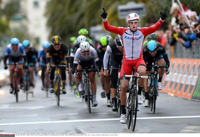 2014 Milan San Remo Kristoff Wins
