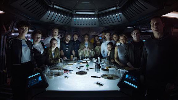 Alien Covenant Crew Portrait
