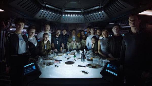 Alien Covenant Crew Portrait
