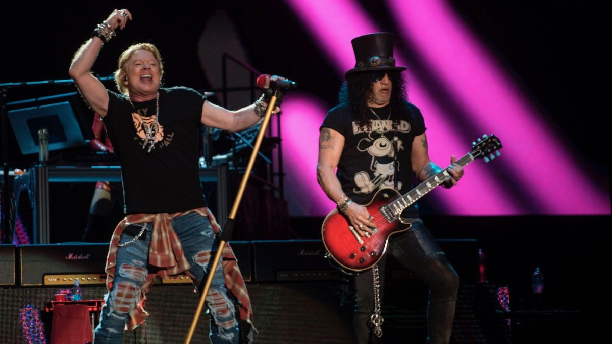 Guns N' Roses have written no new songs in the five years since Slash and Duff rejoined