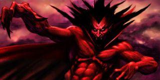 Mephisto being spooky Marvel Comics