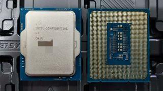 Procesador Intel Alder Lake por ambos lados