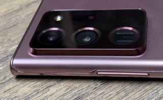 Samsung Galaxy Note 20 Ultra camera bump