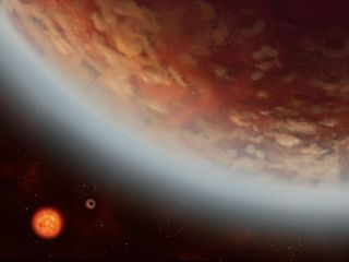 K2-18b super-earth