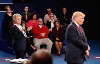 Clinton, Trump, Bone at debate