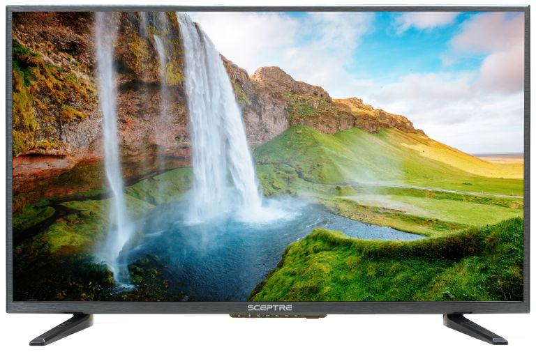 "cheap 32 inch TV: Sceptre 32"" Class HD (720P) LED TV (X322BV-SR)"
