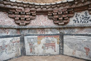 mongol era tomb