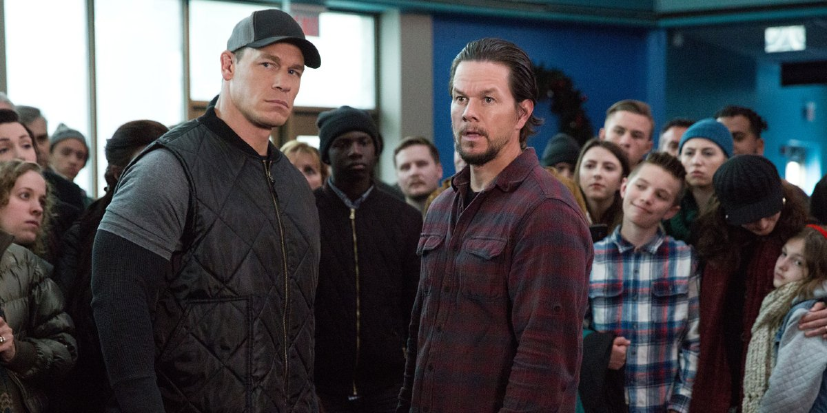 John Cena and Mark Wahlberg in Daddy's Home 2