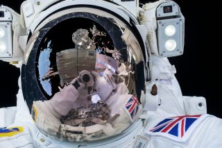 British astronaut Tim Peake walked in space outside the International Space Station on Jan. 15, 2016. ESA announced in 2021 that it is opening up its astronaut pool to applicants with physical disabilities.