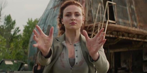 Dark Phoenix Jean Grey offering her hand as power crackles through her