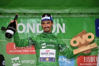Julian Alaphilippe won the 2018 Tour of Britain