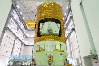 Japan's HTV-6 Cargo Spacecraft