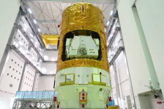 Japan's HTV-6 Cargo Spacecraft