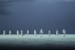 "Stormtroopers in the new Star Wars film ""Rogue One"" wade through the water of an alien ocean world. NASA scientists believe ocean worlds exist in our own galaxy, along with many other environments."