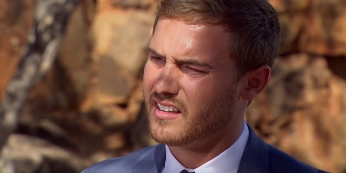 The Bachelor 2020 Peter looks confused in final rose ceremony ABC