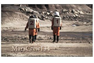 marscrew134, mock mission to mars, mars research