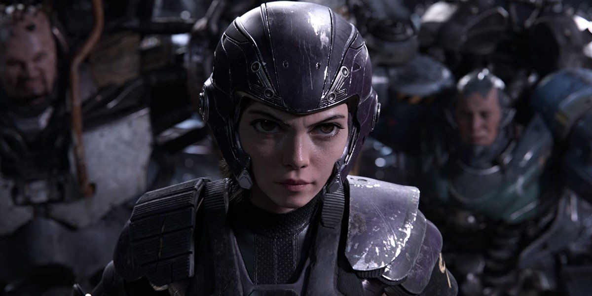 Alita: Battle Angel Alita in her Motorball armor