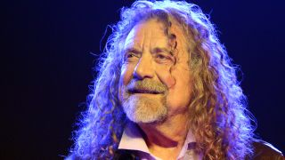 A picture of Led Zeppelin frontman Robert Plant