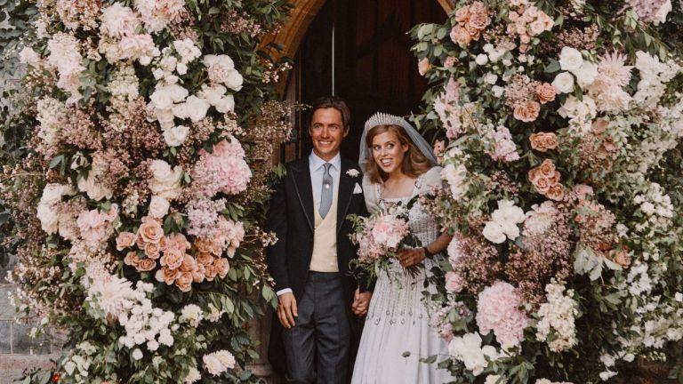 Princess Beatrice and Edoardo married in a secret ceremony