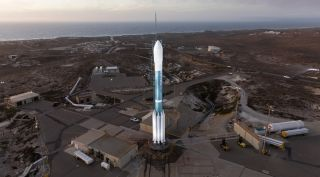 Delta 2 at Space Launch Complex 2W