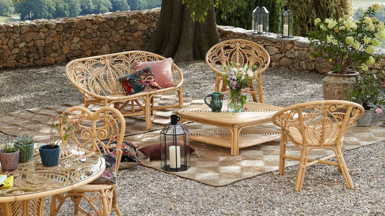Best rattan garden furniture: Calamus Rattan Garden Bench