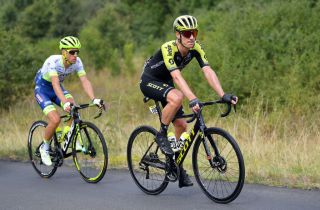 Daryl Impey (Mitchelton-Scott) during stage 1 of the 2020 Critérium du Dauphiné