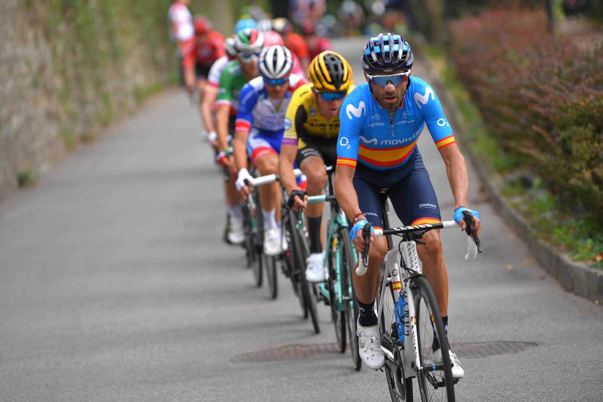 Alejandro Valverde will ride the Tour de France all the way to Paris to prepare for Tokyo 2020 - Cycling Weekly
