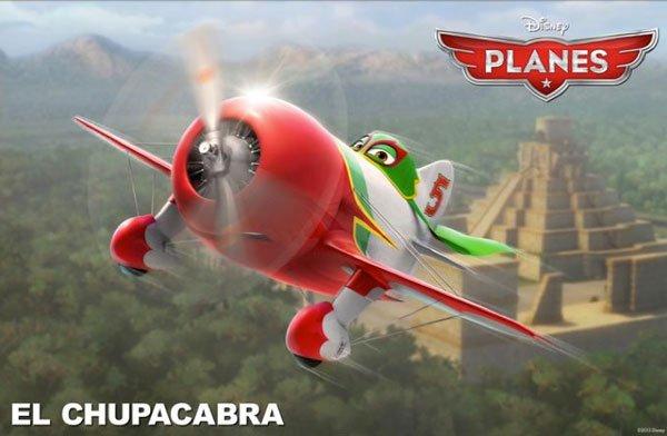 Planes El Chupacabra