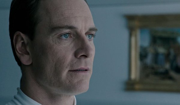 Alien: Covenant Michael Fassbender David looking out the window on the lake
