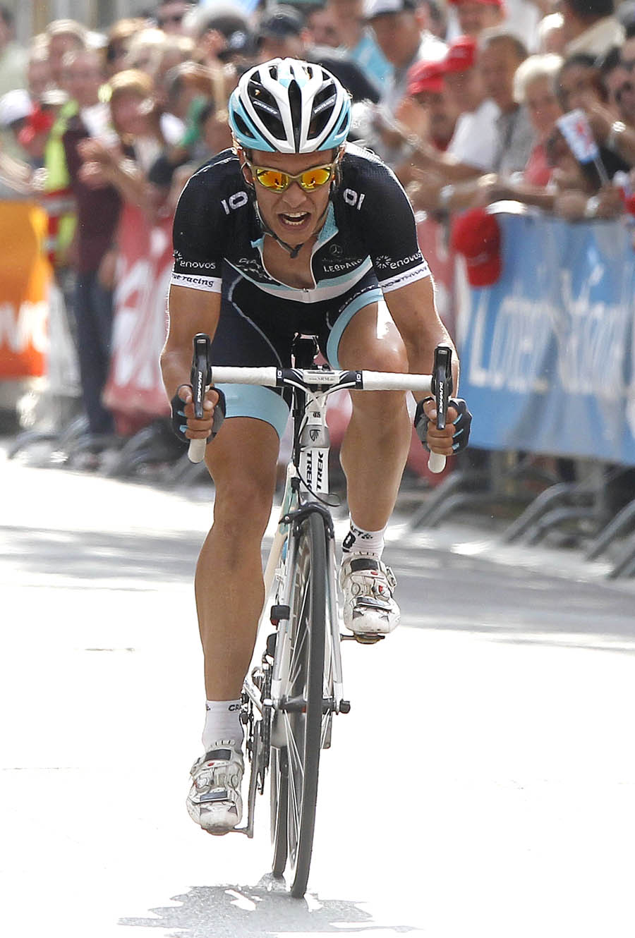 Linus Gerdemann goes solo, Tour of Luxembourg 2011, stage 2