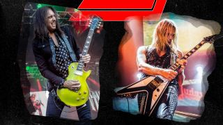 Damon Johnson joins with Richie Faulkner for a Thin Lizzy Tribute
