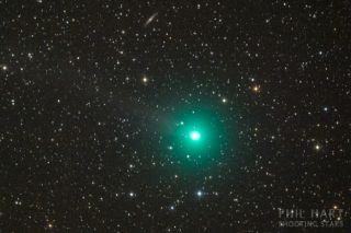 Comet Lovejoy (2014 Q2) was spotted from Australia on Dec. 13, 2014.