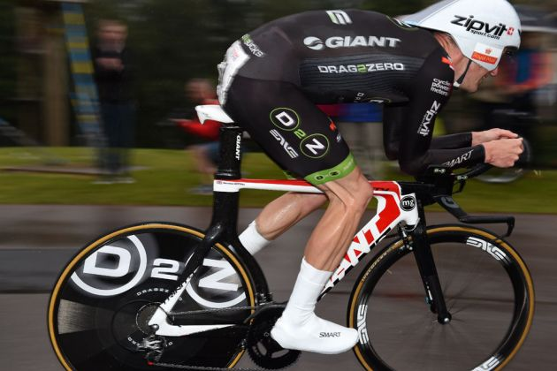 Matt Bottrill, British time trial national championships 2014