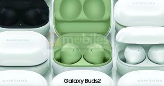 Samsung Galaxy Buds 2 renders