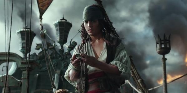 Johnny Depp Digitally De-Aged In Pirates of the Caribbean: Dead Men Tell No Tales