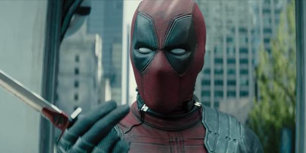 Masked Wade Wilson in Deadpool 2