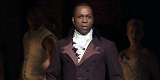 Leslie Odom Jr as Aaron Burr in Hamilton