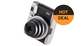 Save 12% on a Fujifilm Instax Mini 90 NEO Classic Camera, with 10 shots